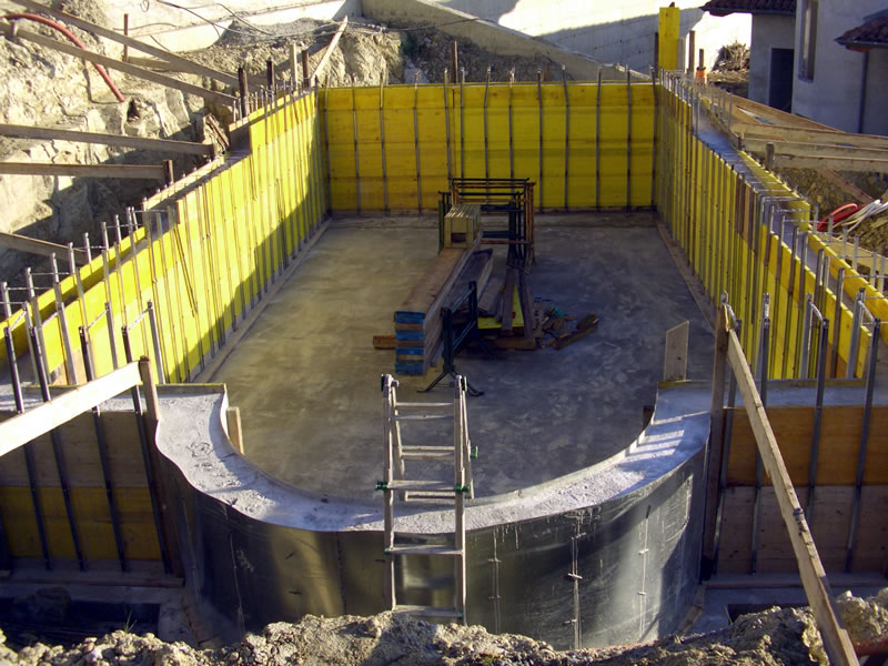 Costruzione piscina in cemento armato - Costruzione piscina in cemento armato ...