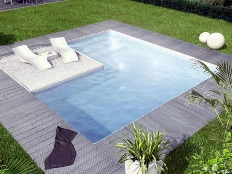 costruzione piscine con pannelli di acciaio
